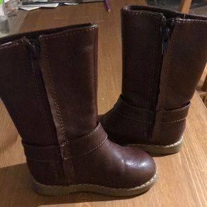 GAP Shoes - Brown toddler girl boots size 6